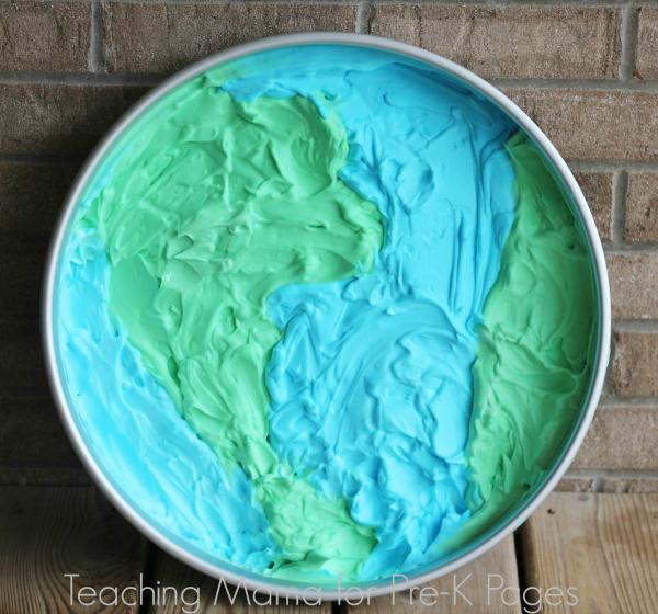 Sensory Play for Earth Day PreK