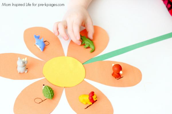 beginning sounds activity for preschool