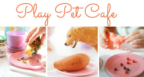 pet cafe dramatic play