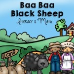 Baa Baa Black Sheep Nursery Rhyme Activities for Preschoolers