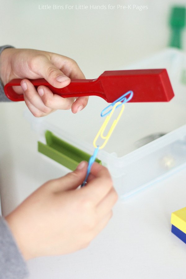 magnet science activity magnets magnetism magnetic pre activities using simple material exploring pages stem around