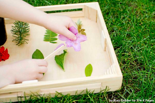 Homemade Nature Matching Game