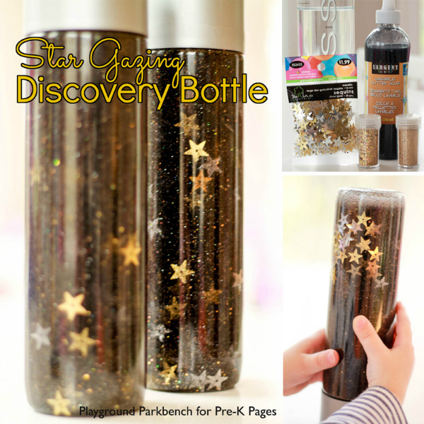 Star Gazing Discovery Bottle space sensory
