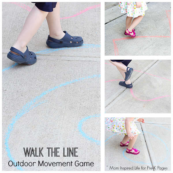 Walk the Line Outdoor Movement Game