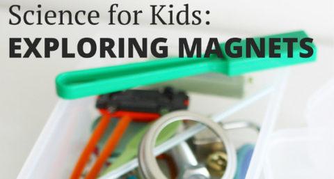 exploring magnets preschool