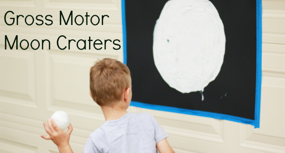 Moon Crater Gross Motor Activity