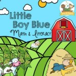 Little Boy Blue Nursery Rhyme Activities for Preschool