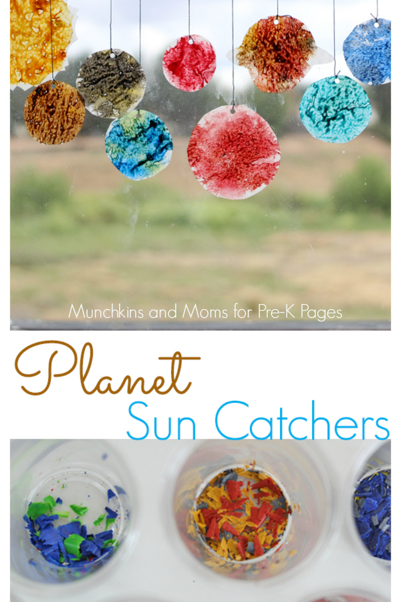 planet sun catchers for preschool