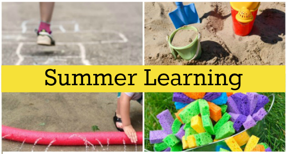 Summer Learning Activities for Preschool