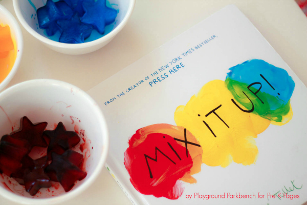 Mix It Up Color Mixing PreK