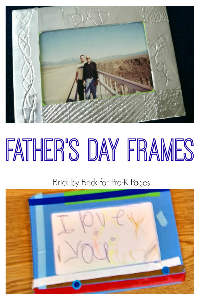 Father\'s Day Frames - Pre-K Pages