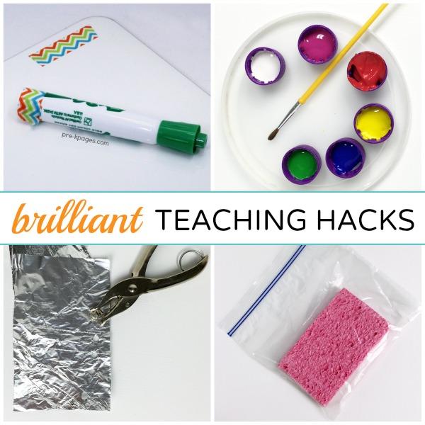 Hacks for Preschool and Kindergarten Teachers