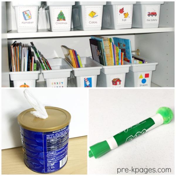 Inexpensive Teaching Ideas for Preschool and Kindergarten Teachers