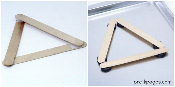 Use Popsicle Sticks with Velcro Dots or Button Magnets to make fun learning Games for Kids