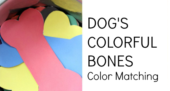 Dog's Colorful Day: Color Matching