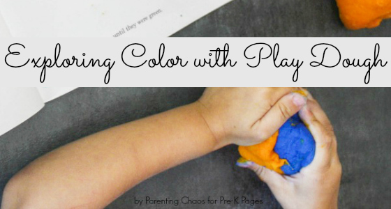 Little Blue and Little Yellow: Exploring Colors with Play Dough