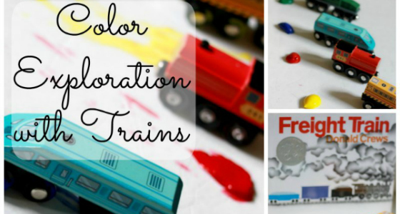 Freight Train: Exploring Colors with Trains
