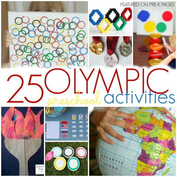 Activities To Celebrate The Olympics With Preschool Pre