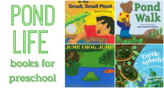 Books for Preschool About Pond Life