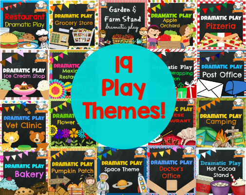 19 dramatic play themes