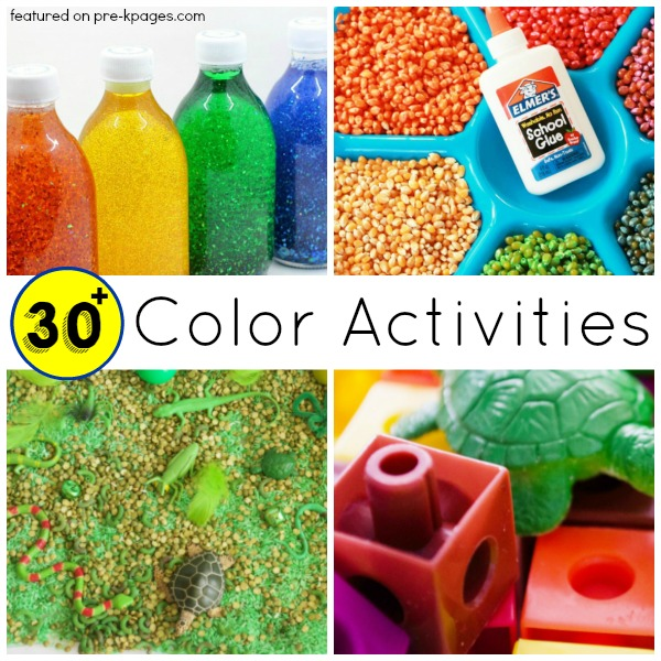 30 Color Activities for Learning About Colors