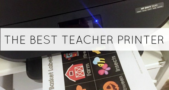 The Best Printer for Teachers