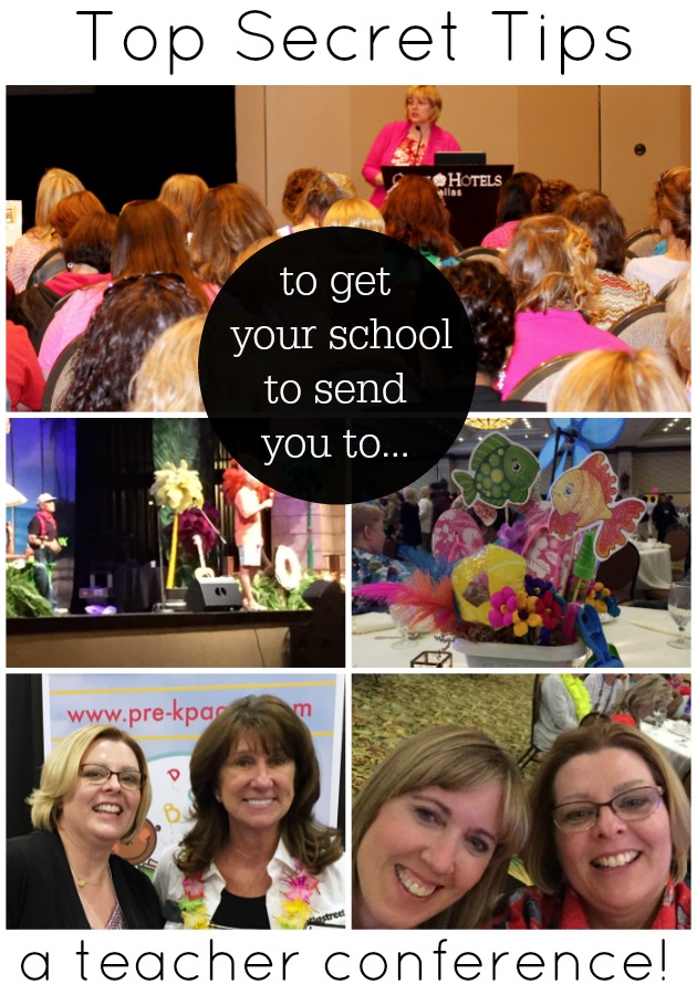 How to Get Your School to Send You to a Teacher Conference
