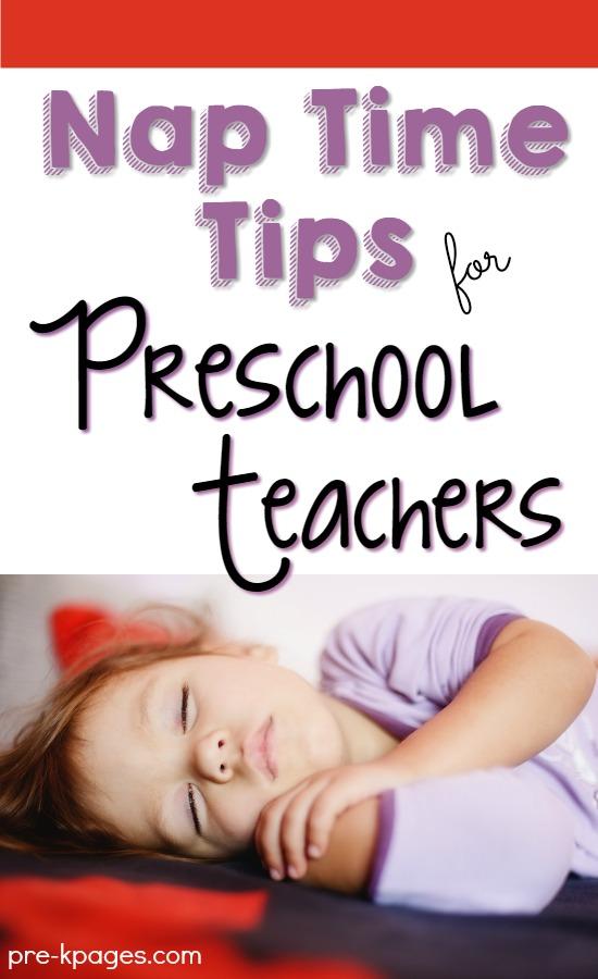 How to get kids to nap in preschool