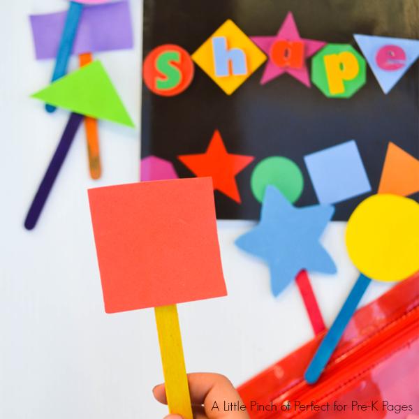 shape treasure hunt kindergarten