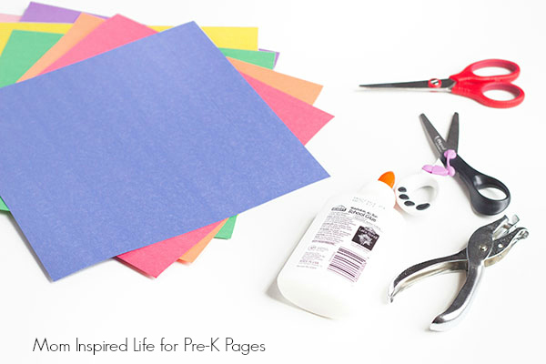 shapes art activity for pre-k