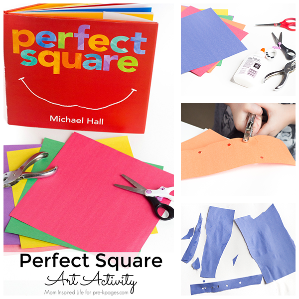 Perfect Square Art Activity