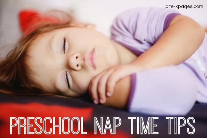 Preschool Nap Time Tips