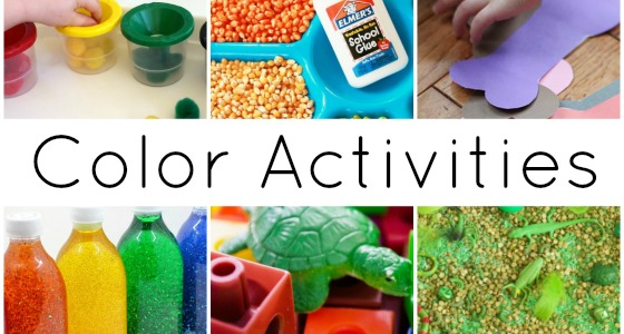 30+ Activities to Explore Colors