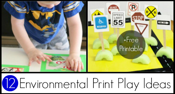 Ideas for Using Environmental Print - Pre-K Pages