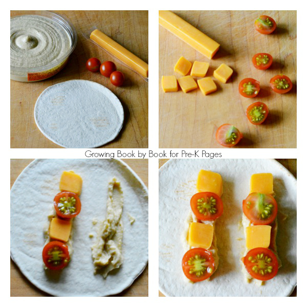 make a tortilla shape snack