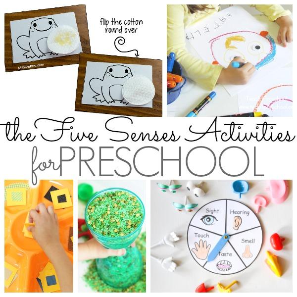 Preschool Activities That Feature the Five Senses - Pre-K