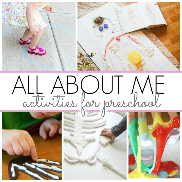 All about me preschool theme ideas