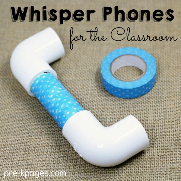 How to Make Whisper Phones for Classroom
