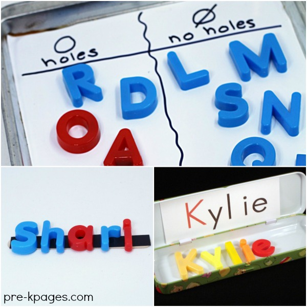How to Teach Letters in Preschool. Activities to make learning letters of the alphabet fun and meaningful for kids.