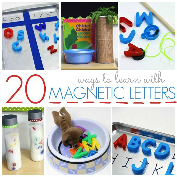 How to Use Magnetic Letters to Teach the Alphabet in Preschool and Kindergarten