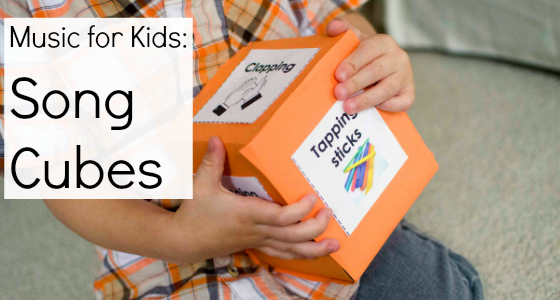 Music with Kids: Song Cubes and Finding the Beat