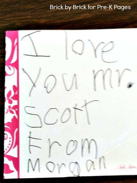 preschool note