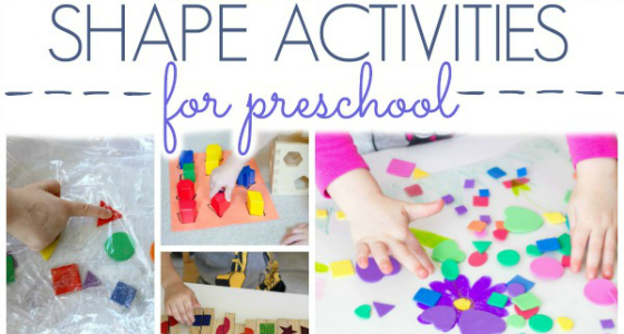 Shapes Activities For Preschoolers