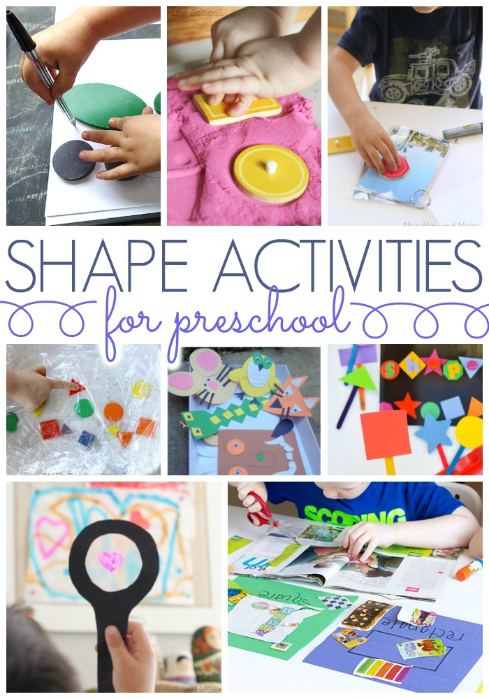 shapes theme preschool activities shapes activities for preschoolers pre k pages 128
