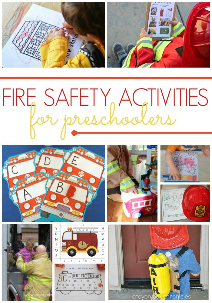 Preschool Activities for a Fire Safety Theme - Pre-K Pages