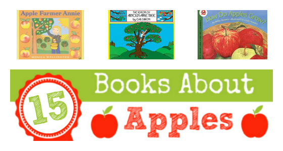 Apple Theme Books for Preschoolers