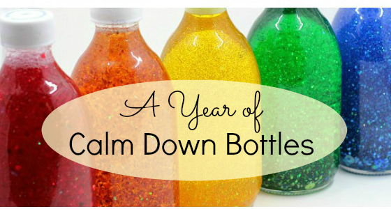 A Year of Calm Down Bottles