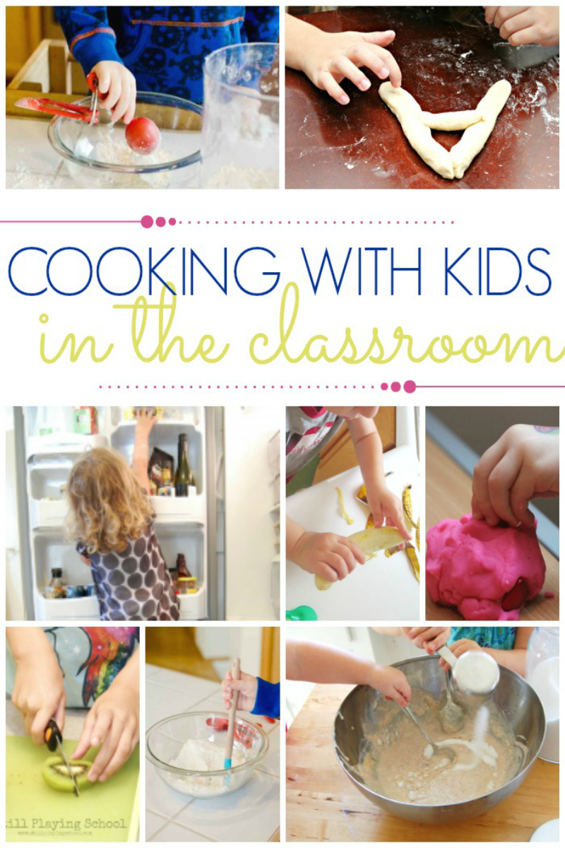 Classroom Cooking Ideas ~ Ideas and tips for cooking with preschoolers pre k pages