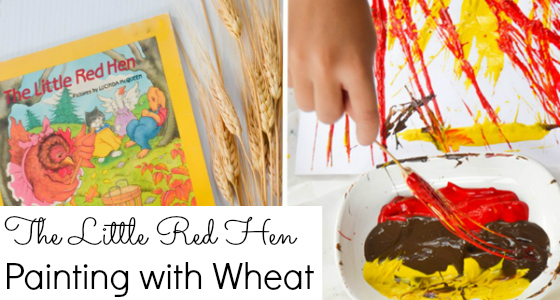 Little Red Hen: Painting with Wheat