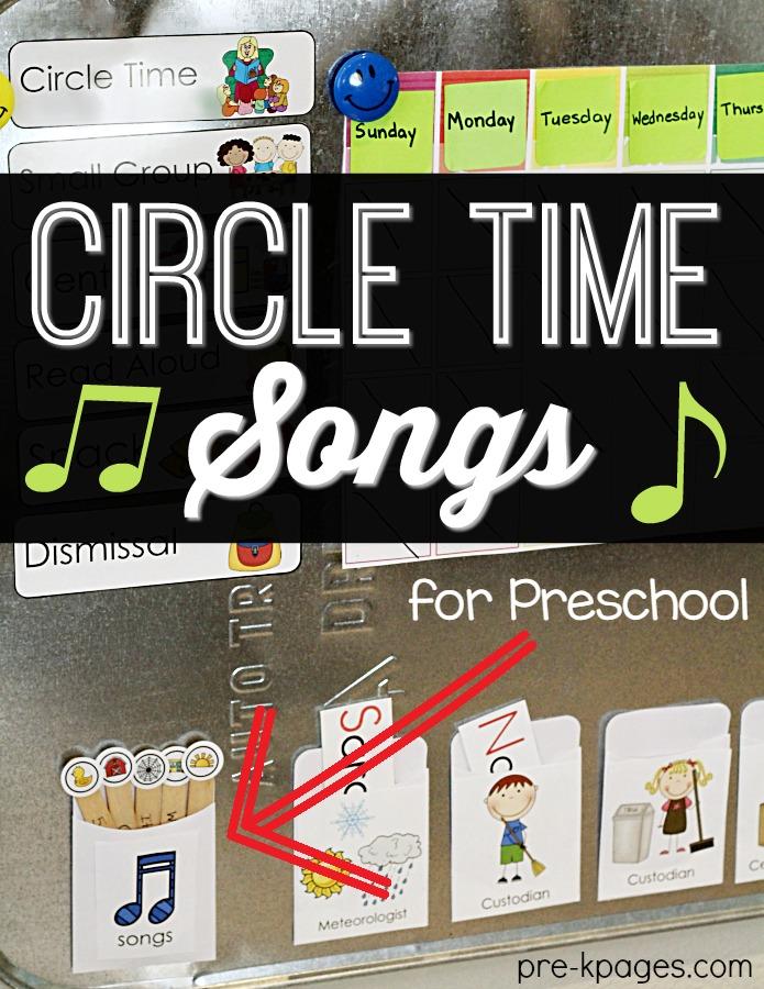 Circle Time Calendar Printables : Calendar time tips for pre k teachers